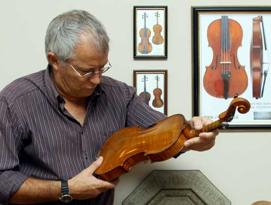 Assessments appraisals and certifications of antique violins